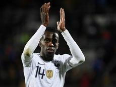 Matuidi s'est confié sur la finale de la Ligue des champions. AFP