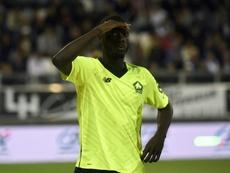 L'attaquant de Lille Nicolas Pépé. AFP