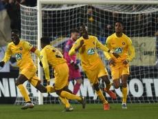 Bordeaux sorti par Pau après prolongations. AFP