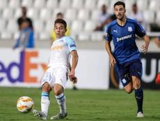 Maxime Lopez se habría alejado del Sevilla. AFP