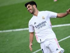 Marco Asensio casi ni tuvo minutos ante el Villarreal. AFP