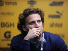 El uruguayo espera volver algún día como entrenador. AFP