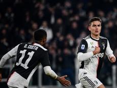 Dybala hizo de Cristiano para ajusticiar al mejor Milan. EFE