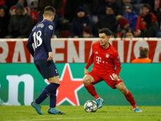 Fora dos planos do Bayern de Munique, Philippe Coutinho tem interessados na Premier League. AFP