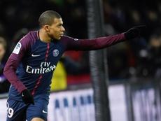 Emery espera tener a Mbappé para principios de febrero. AFP
