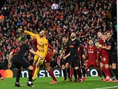El Liverpool-Atleti fue, sin duda, un foco de contagio. AFP/Archivo