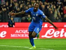 Kean pudo no renovar con al Juventus por un tractor. AFP