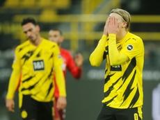 La Bundesliga certainement sans supporters jusqu'à la fin de saison. AFP