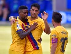 O Barça está perto de renovar com Semeno até 2025. AFP