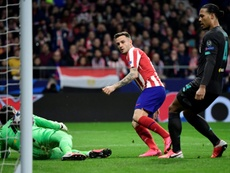 Some people thought Saúl was going to leave Atlético. AFP