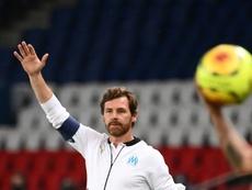 Villas-Boas analyse le match nul. AFP