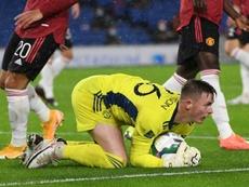 Henderson está em busca dos minutos que não encontrou no United. AFP