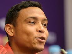 Muriel podría perderse el debute en Champions. AFP