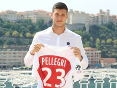 Pellegri acabó en Mónaco pese a las intentonas de la Juve. AFP