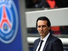 Unai Emery job as PSG manager is 100 percently secure. AFP
