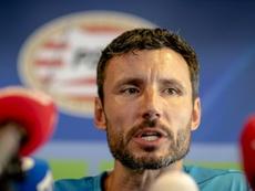 El técnico holandés se negó a hablar sobre lo que ocurrió en 2010. AFP