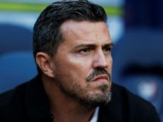 Óscar García confía en ganar al Espanyol. AFP