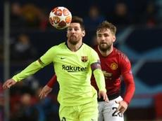 Solskjaer si porta Sánchez e Shaw a Barcellona. AFP