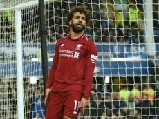 Salah prefere fazer feliz os adeptos do que a si próprio. AFP