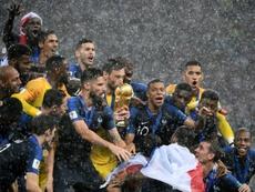 Francia, nueva número uno del Ranking FIFA. AFP