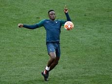 Wanyama jugará en la Liga Belga. AFP