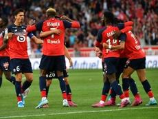 El Lille volvió a vencer en su feudo. AFP