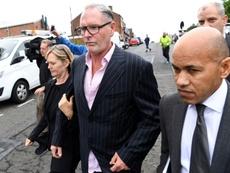 Gascoigne, absuelto del delito de agresión sexual. AFP