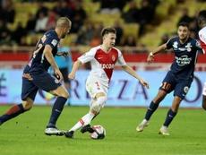 Golovin va rester à Montpellier. AFP