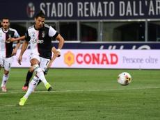 Ronaldo même pas dans le top 3 des attaquants de Pirlo. AFP