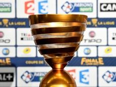 Así quedan los cuartos de final de la Copa de la Liga de Francia. AFP