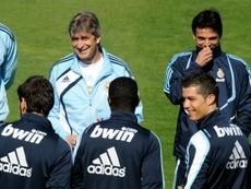 Pellegrini cree que la plantilla del Madrid de por aquel entonces estaba desequilibrada. AFP