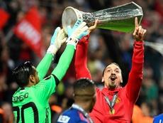 Le retour d'Ibrahimovic n'est pas une priorité pour Manchester United. AFP