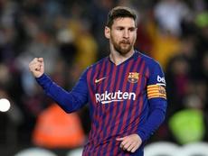 El único equipo al que Messi no ha podido ganar. AFP