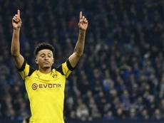 En Dortmund cierran la puerta a cal y canto a Jadon Sancho, el gran objetivo del United. AFP