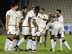 El Al Sadd ganó al Del Duhail por 2-4 en la Supercopa de Catar. AFP