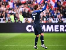 Griezmann destacó la reacción de Francia para remontar. AFP