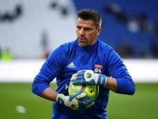 Grégory Coupet déçu par l'OL. AFP