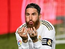 Ramos y el Madrid, condenados a entenderse AFP