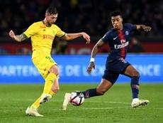 Sala es una de las revelaciones del fútbol en Europa. AFP