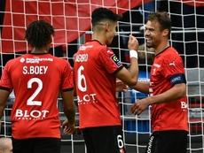 Les compos probables du match de Ligue 1 entre Rennes et Lens. AFP