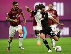 Maurizio Sarri a analysé la défaite de son équipe. AFP