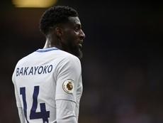 Bakayoko no ha entrado en la última convocatoria del Chelsea. EFE
