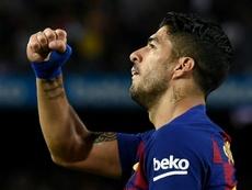 Suárez  falou sobre a sua situação no Barcelona. AFP
