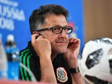 Osorio wasn't impressed with Mexico's final group performance. AFP