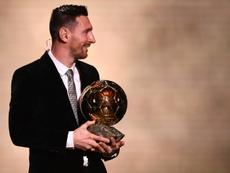 Messi n'a gagné qu'avec sept point de plus seulement ! AFP