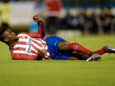 Jackson Martínez recordó su paso por el Atlet. AFP