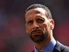 Ferdinand analizó el partido del PSG. AFP