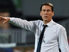 Rudi Garcia fustige l'arbitrage. AFP