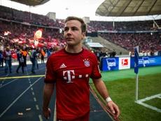 Götze asumió su error al salir del Borussia Dortmund. AFP