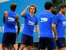Griezmann analizó su llegada al Barcelona. AFP